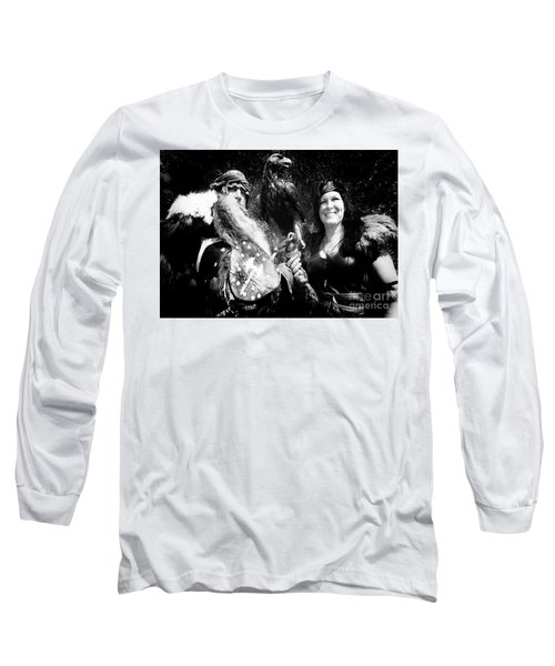 Long Sleeve T-Shirt featuring the photograph Beauty And The Beasts by Bob Christopher
