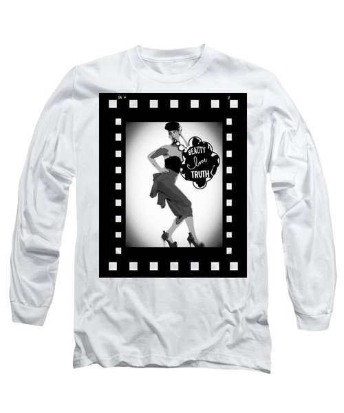 Beauty Love Truth Long Sleeve T-Shirt