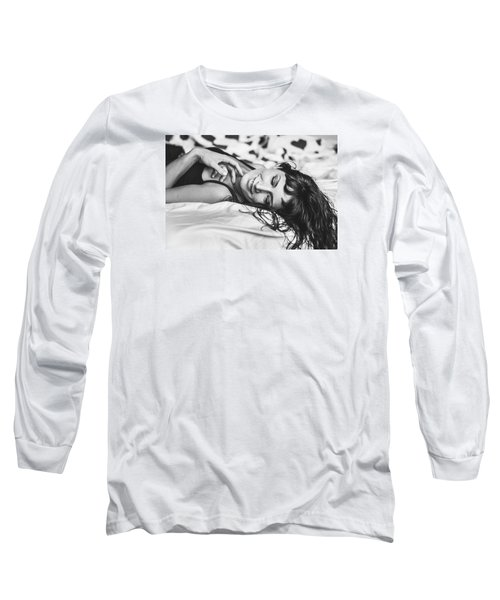 Bed Portraits Long Sleeve T-Shirt