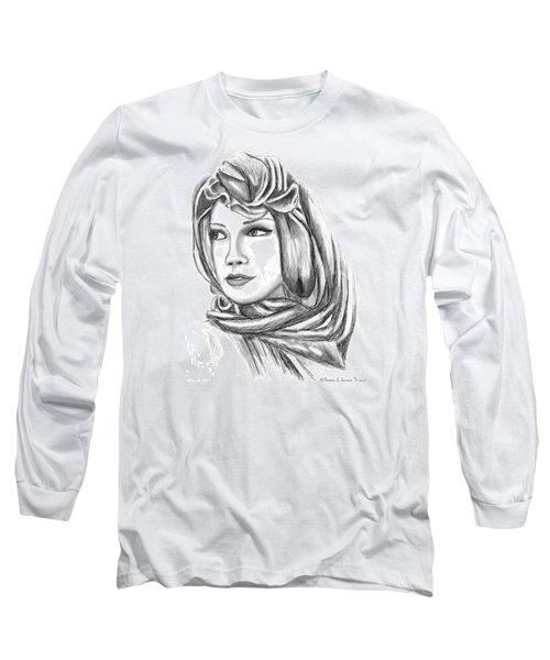 Bedouin Woman Long Sleeve T-Shirt