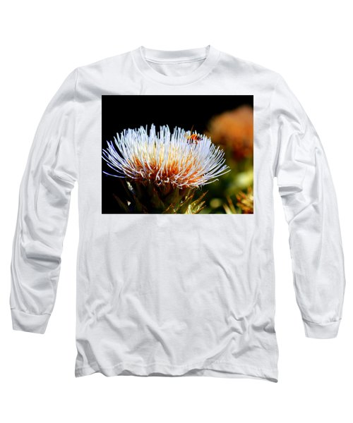 Bee And Artichoke Long Sleeve T-Shirt