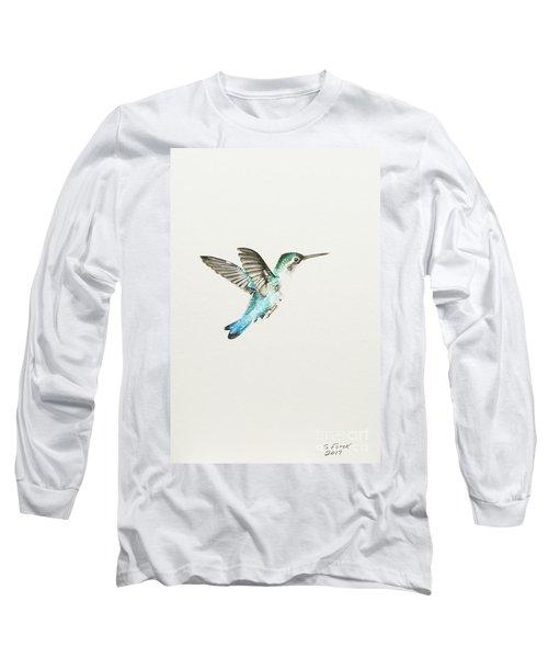 Bee Hummingbird Long Sleeve T-Shirt