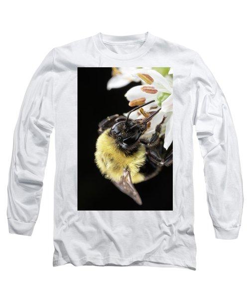 Bee Macro 1 Long Sleeve T-Shirt