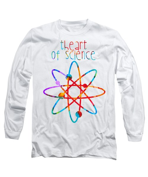 Long Sleeve T-Shirt featuring the painting Beginnings Abstract by Nikki Marie Smith