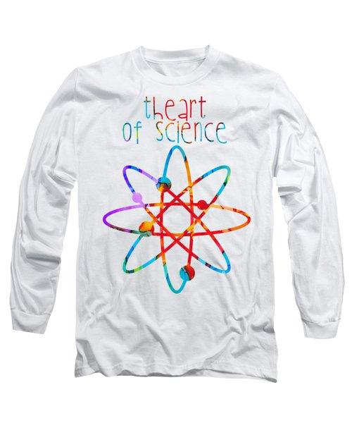 Beginnings Abstract Long Sleeve T-Shirt