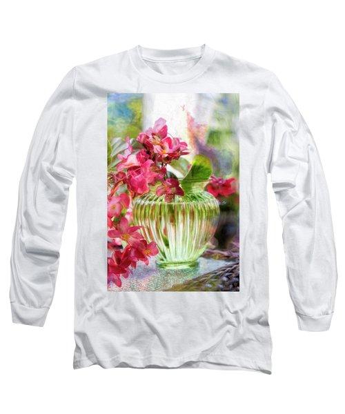 Begonia Art Long Sleeve T-Shirt