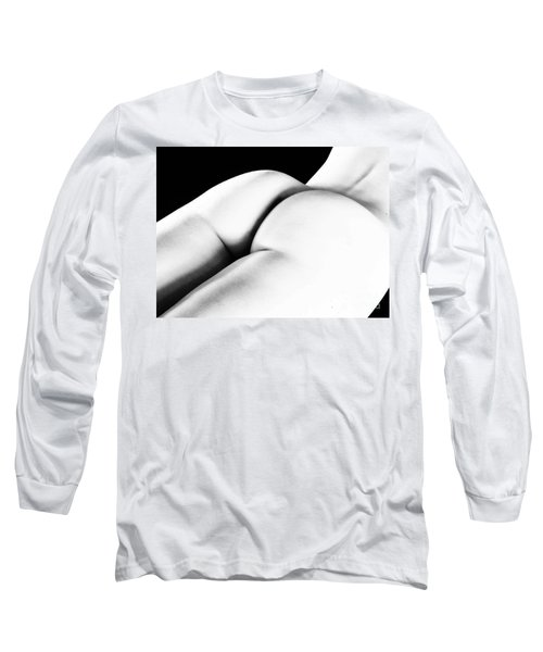 Behind The Over There Long Sleeve T-Shirt by Robert WK Clark