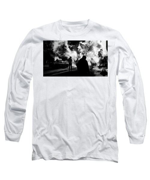 Behind The Smoke Long Sleeve T-Shirt