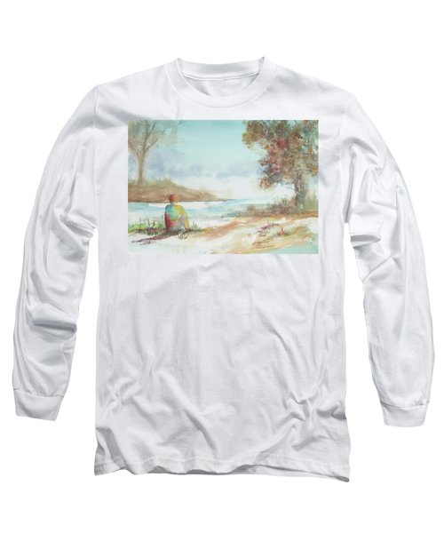 Being Here Long Sleeve T-Shirt