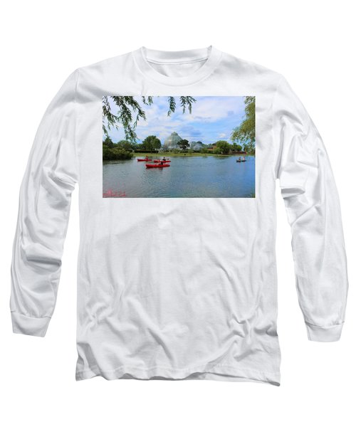 Belle Isle Conservatory Long Sleeve T-Shirt