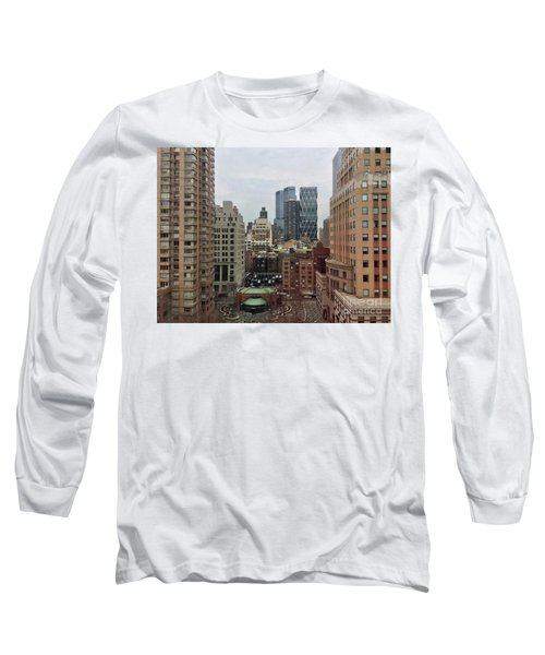 Belvedere Hotel New York City  Room With A View Long Sleeve T-Shirt