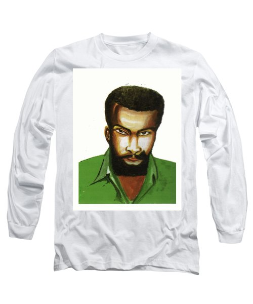 Ben Okri Long Sleeve T-Shirt by Emmanuel Baliyanga