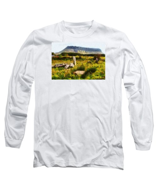 Benbulben Sligo Long Sleeve T-Shirt by Charmaine Zoe
