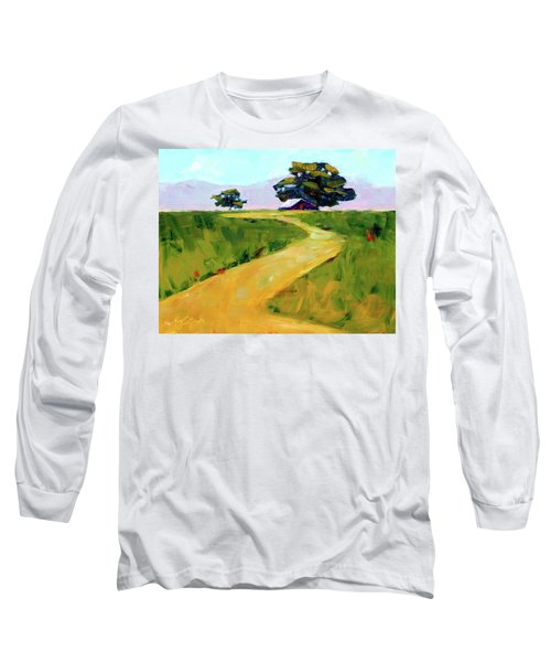 Beneath The Cottonwoods Long Sleeve T-Shirt