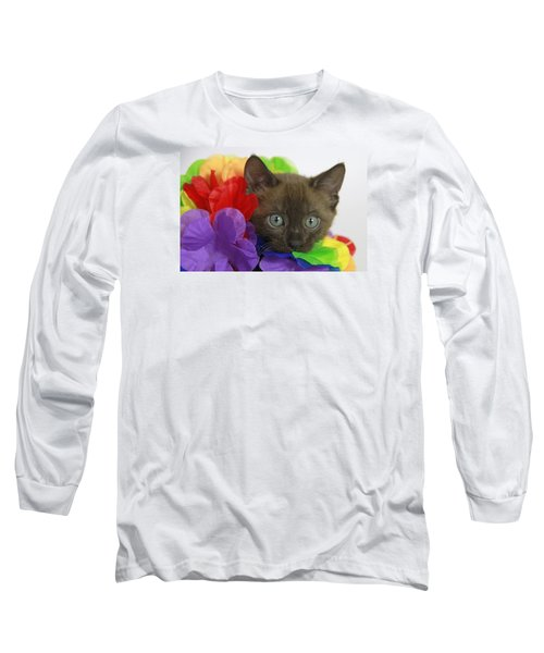 Bengal Colors Long Sleeve T-Shirt by Shoal Hollingsworth