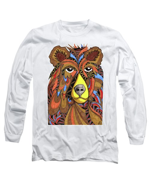 Benjamin Bear Long Sleeve T-Shirt