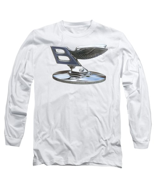 Bentley Logo Long Sleeve T-Shirt