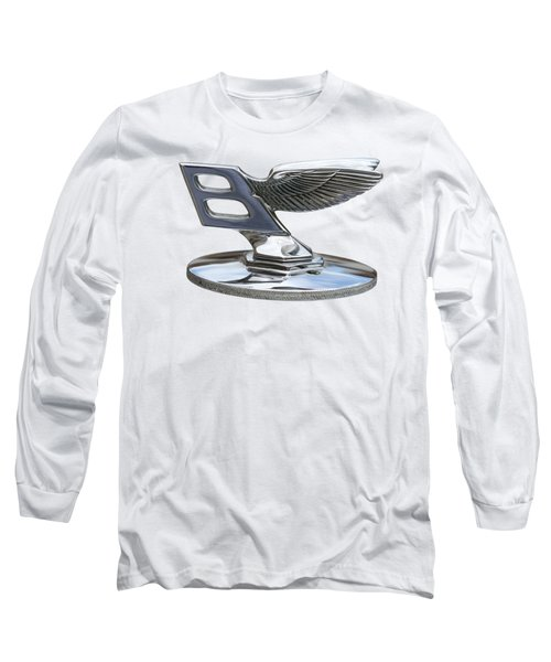 Bentley Logo Long Sleeve T-Shirt