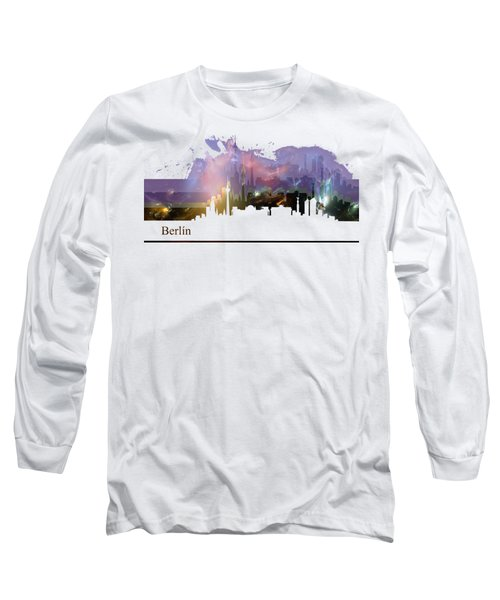 Berlin 2 Long Sleeve T-Shirt by Alberto RuiZ