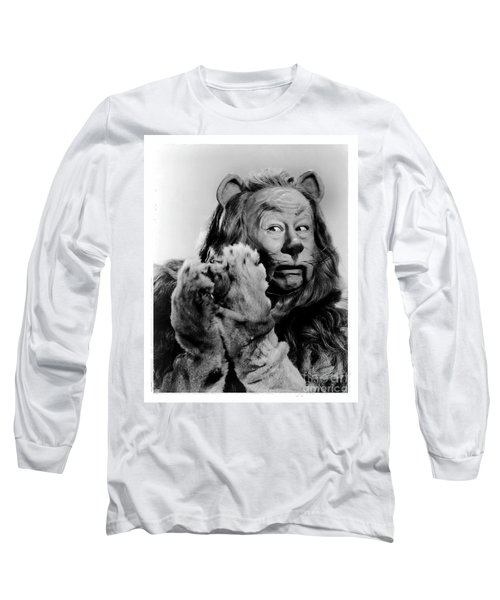 Cowardly Lion In The Wizard Of Oz Long Sleeve T-Shirt