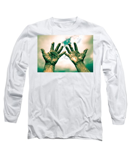 Beseeching Hands Long Sleeve T-Shirt