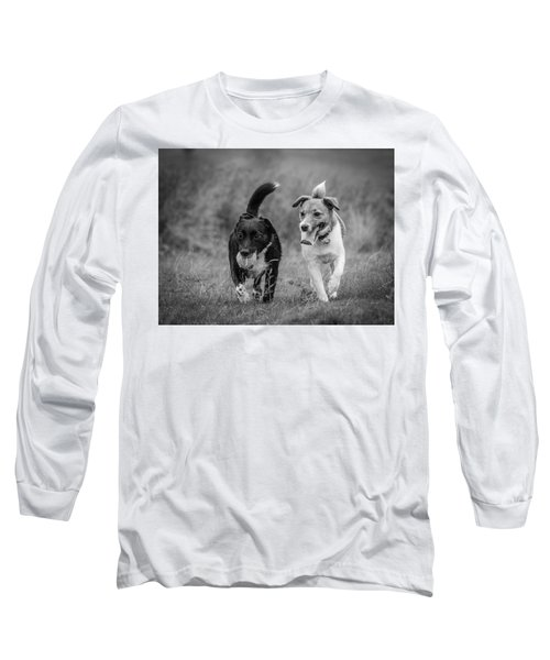 Long Sleeve T-Shirt featuring the photograph Best Buddies by Nick Bywater