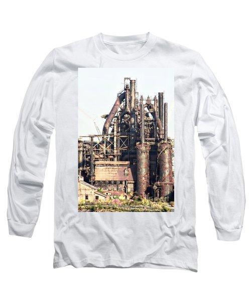 Bethlehem Steel # 14 Long Sleeve T-Shirt