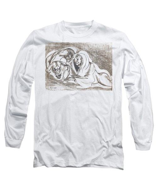 betrayal. May, 1996 Long Sleeve T-Shirt by Tatiana Chernyavskaya