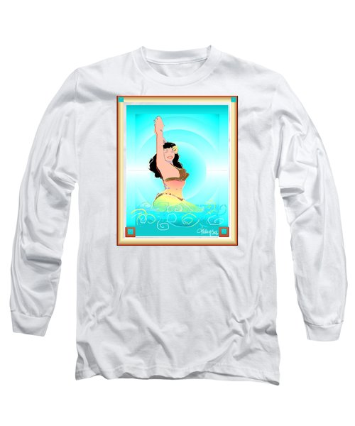 Bettie Page  Long Sleeve T-Shirt