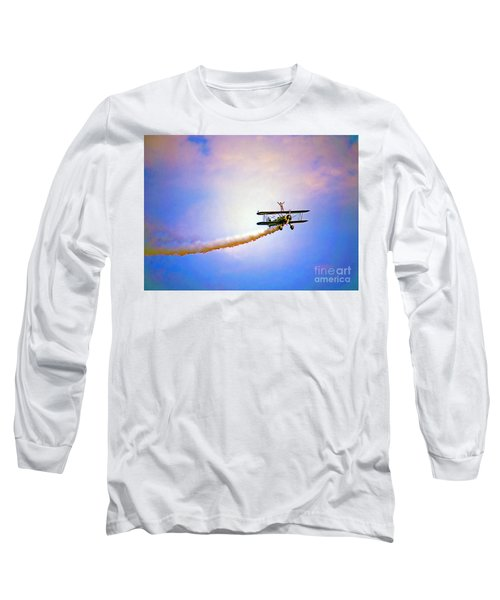 Bi-plane And Wing Walker Long Sleeve T-Shirt