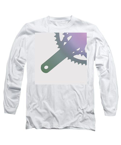 Bicycle Chain Ring - 3 Of 4 Long Sleeve T-Shirt