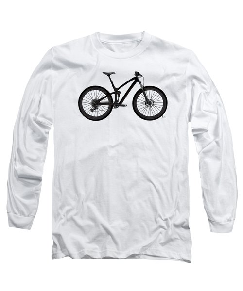 Bicycle For Fans. Original Handmade Drawing For Bikers Long Sleeve T-Shirt