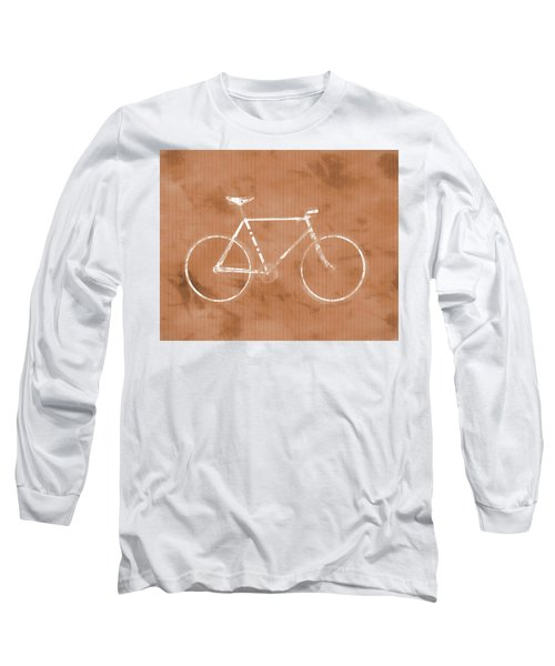 Bicycle On Tile Long Sleeve T-Shirt by Dan Sproul