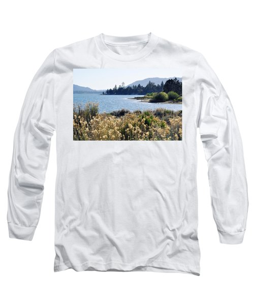 Big Bear Lake Shoreline Long Sleeve T-Shirt