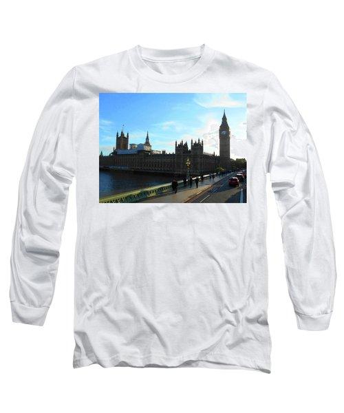 Big Ben And Parliament London City Long Sleeve T-Shirt
