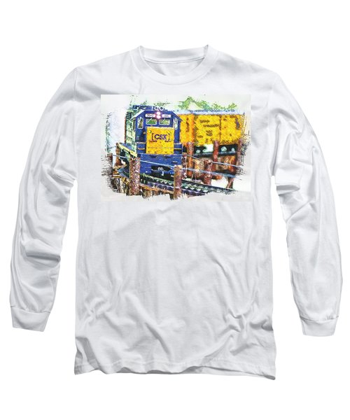 Long Sleeve T-Shirt featuring the photograph Big Bend by Robert Pearson