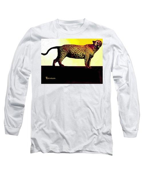 Big Game Africa - Leopard Long Sleeve T-Shirt