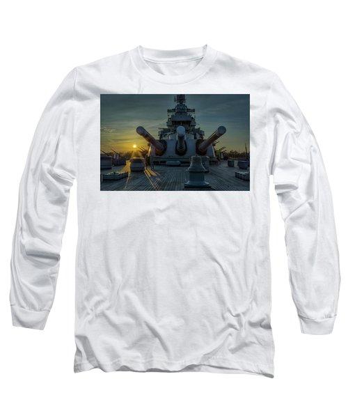 Big Guns At Sunset Long Sleeve T-Shirt