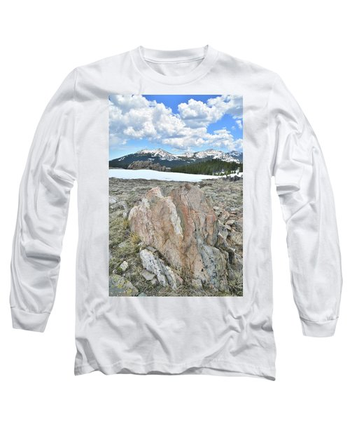 Big Horn Pass In Wyoming Long Sleeve T-Shirt