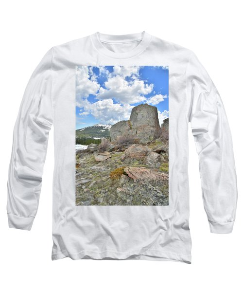 Big Horn Pass Rock Croppings Long Sleeve T-Shirt