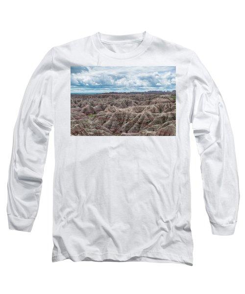 Big Overlook Badlands National Park  Long Sleeve T-Shirt