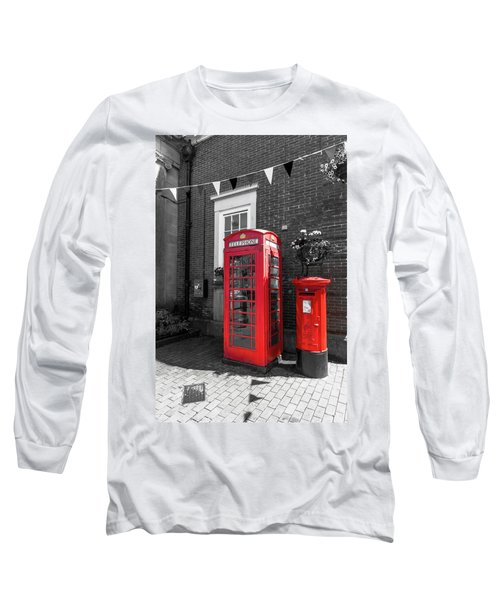 Long Sleeve T-Shirt featuring the photograph Big Red Little Red by Scott Carruthers
