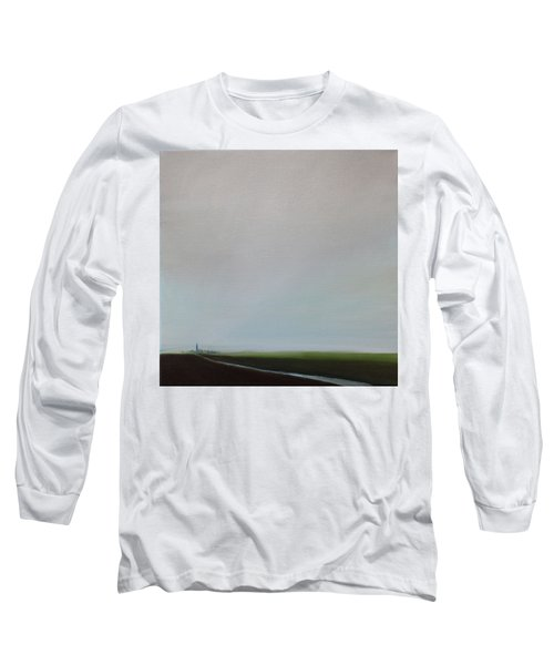 Long Sleeve T-Shirt featuring the painting Big Sky by Tone Aanderaa