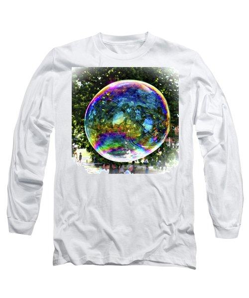 Big Soap Bubble Long Sleeve T-Shirt