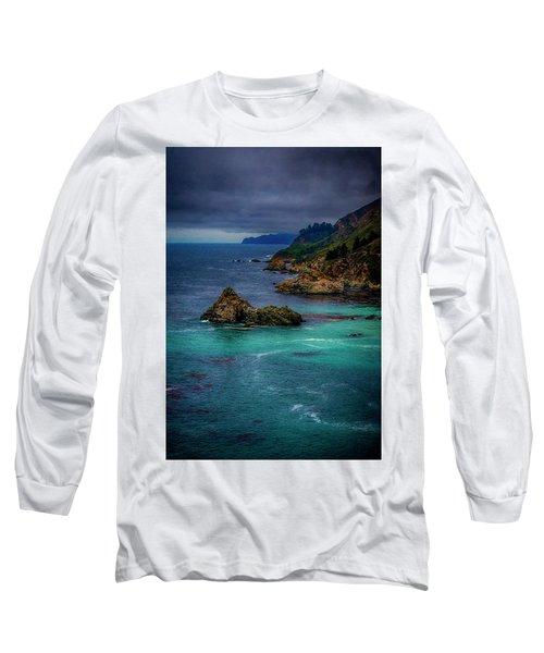 Long Sleeve T-Shirt featuring the photograph Big Sur Coastline by Joseph Hollingsworth