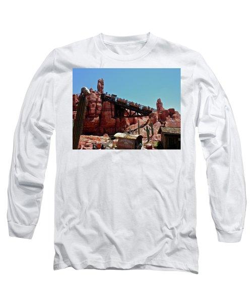 Big Thunder Mountain Walt Disney World Mp Long Sleeve T-Shirt