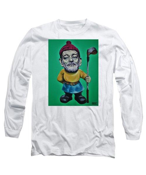 Bill Murray Golf Gnome Long Sleeve T-Shirt