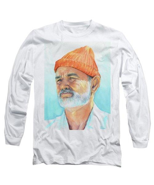 Bill Murray Steve Zissou Life Aquatic Long Sleeve T-Shirt