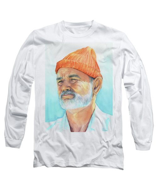 Bill Murray Steve Zissou Life Aquatic Long Sleeve T-Shirt