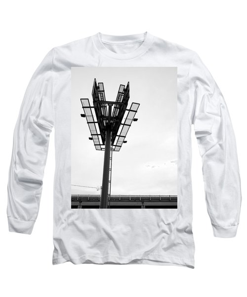 Billboard Above Interstate 15 In Helena Mt Long Sleeve T-Shirt